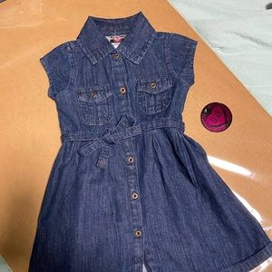 Girls jean dress